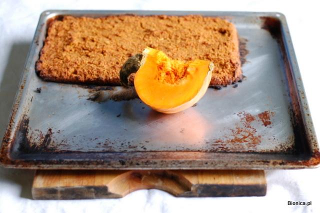 ciasto dyniowe bezglutenowe