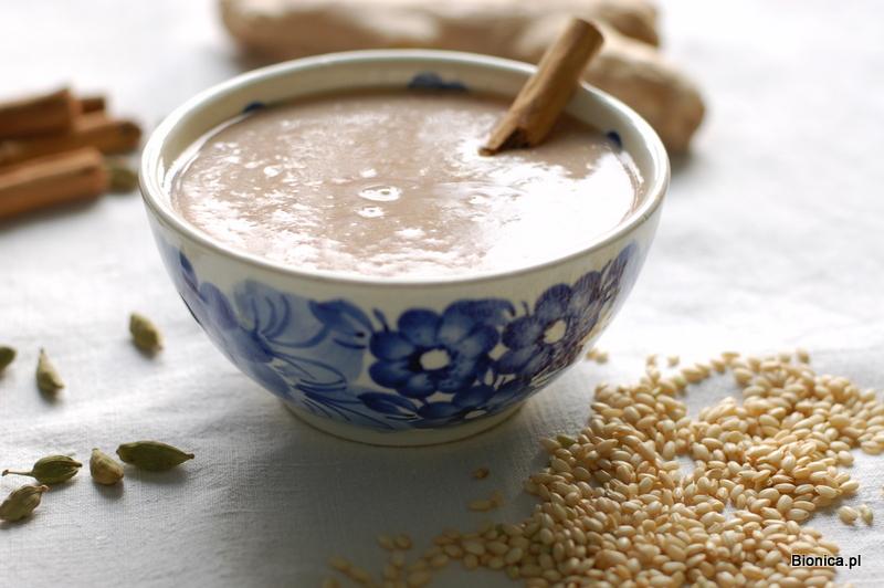 budyń ze słodkiego ryżu