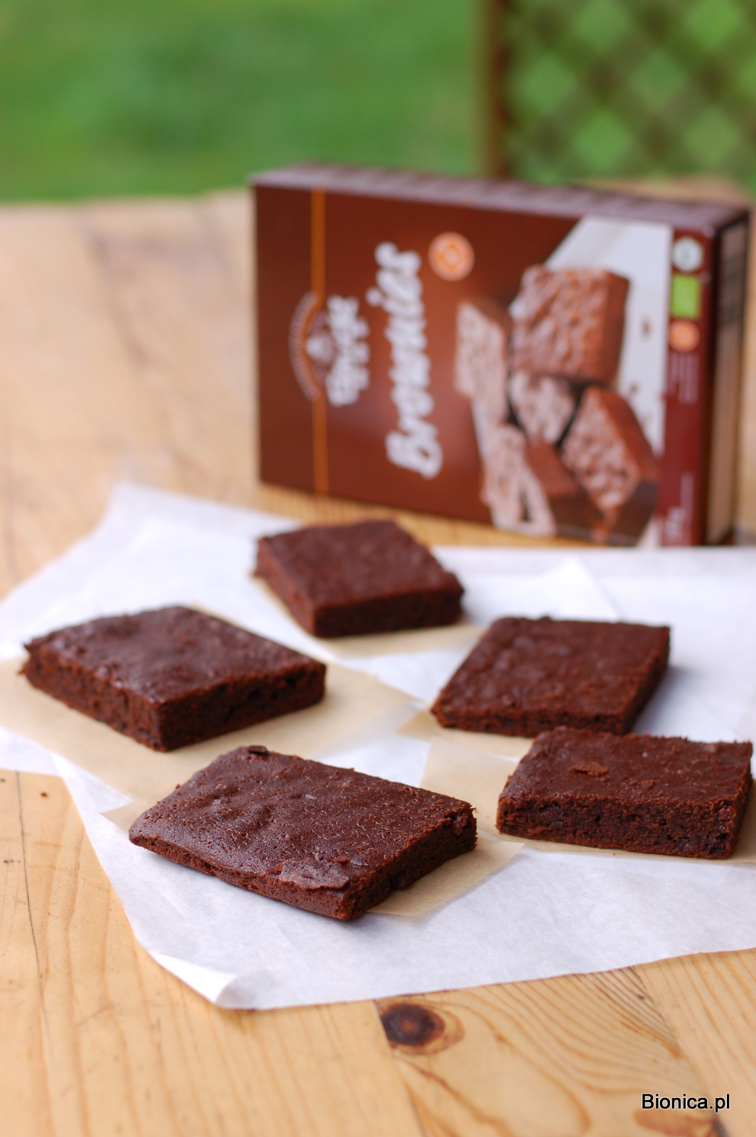 Bauckhof brownies Bionica